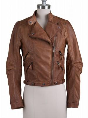 nut brown jacket
