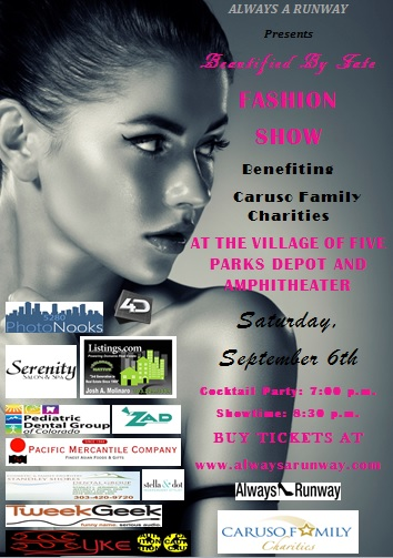 Fashion Show Flyer With Sponsors